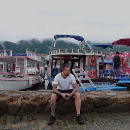 Mario Iliev's YouTube Travel Channel at buzios harbour